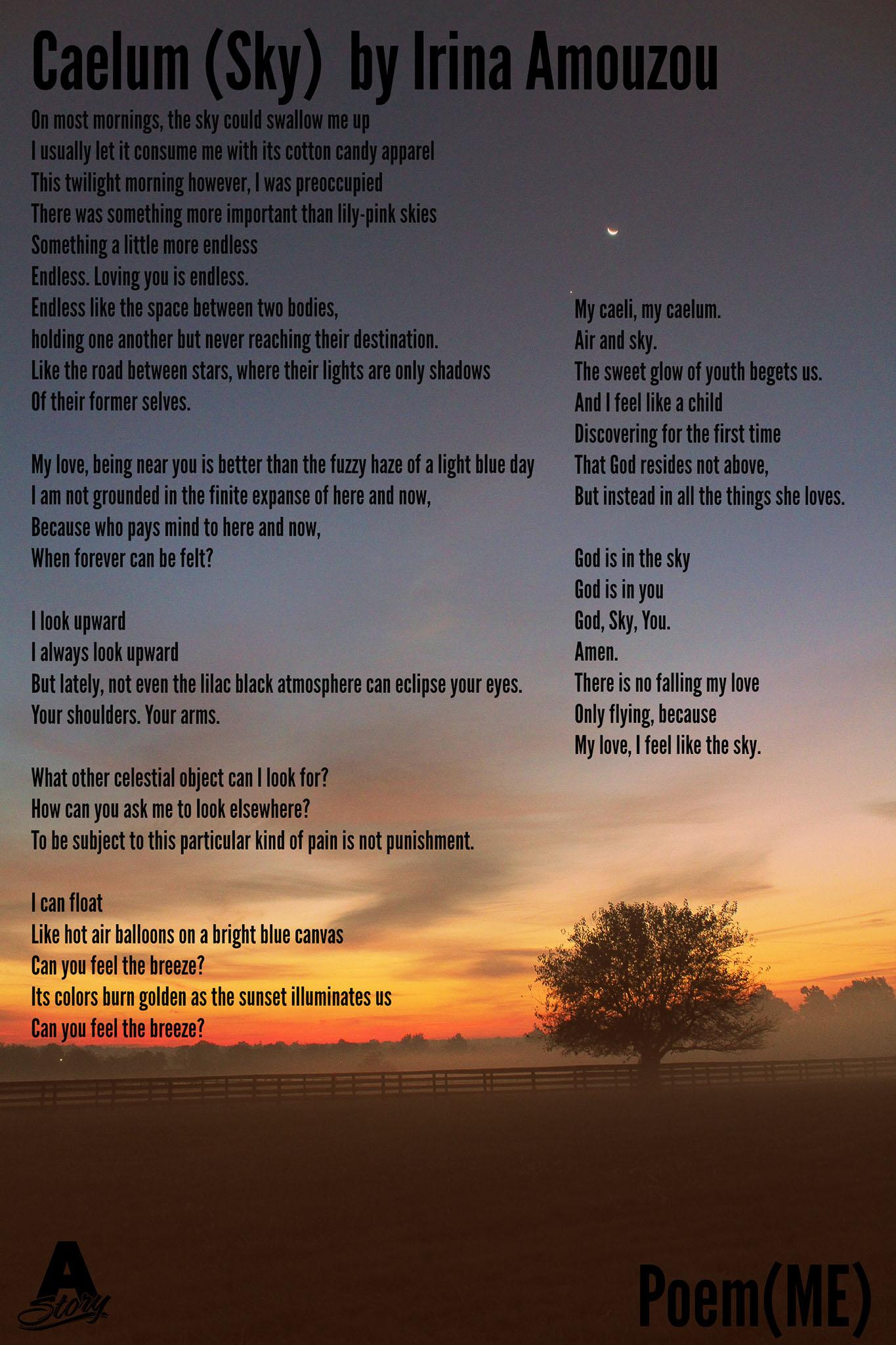 Poem(ME) - Aurora Story