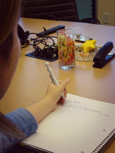 write shot